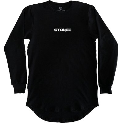 Camiseta Longline Manga Longa Pump