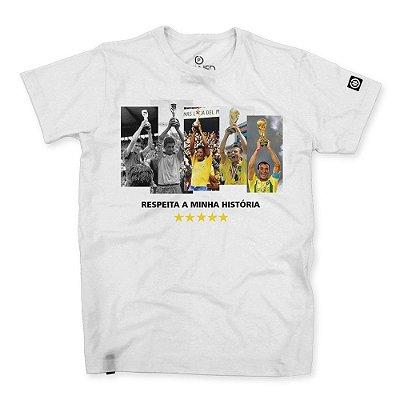 Camiseta Masculina Respeita