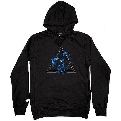 Moletom Blue Triangle