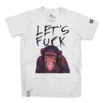 Camiseta Masculina Let's Fuck