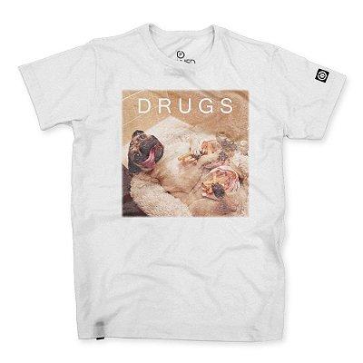 Camiseta Masculina Drugs