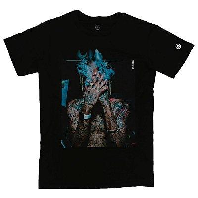 Camiseta Masculina Wiz Khalifa Smoke