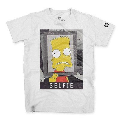 Camiseta Masculina Selfie Bart