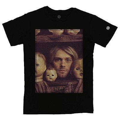 Camiseta Masculina Kurt Kobain