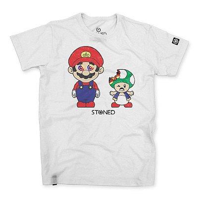 Camiseta Masculina Mario Alucinado