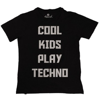Camiseta Masculina Cool Kids Play Techno