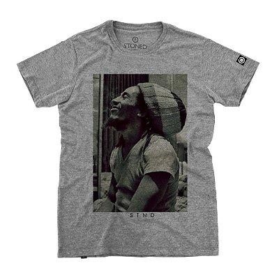 Camiseta Masculina Bob Marley Five