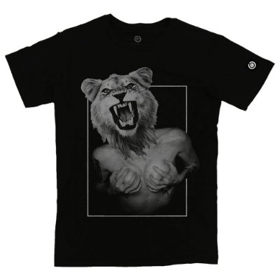 Camiseta Masculina Lady Lion