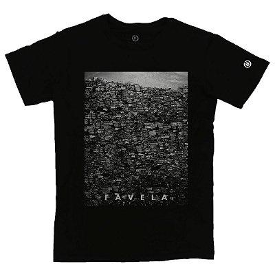 Camiseta Masculina Favela