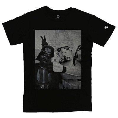 Camiseta Masculina Star Wars Selfie