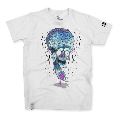 Camiseta Masculina Crazy Brain