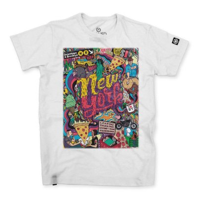 Camiseta Masculina New York
