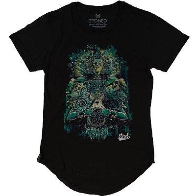 Camiseta Longline Honorable Warrior