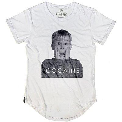 Camiseta Longline Cocaine