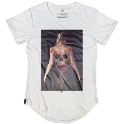 Camiseta Longline Smoke Girl