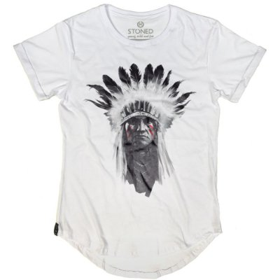 Camiseta Longline Indian Chief