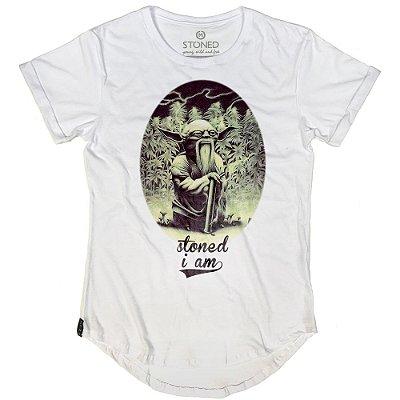 Camiseta Longline Yoda