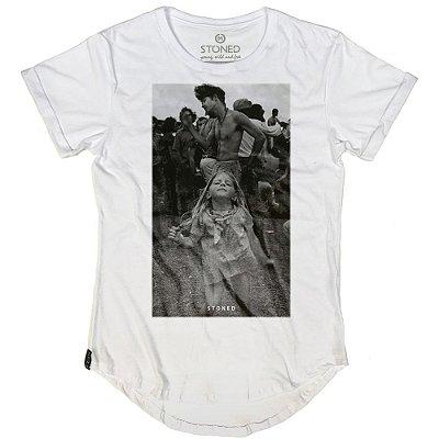 Camiseta Longline Woodstock