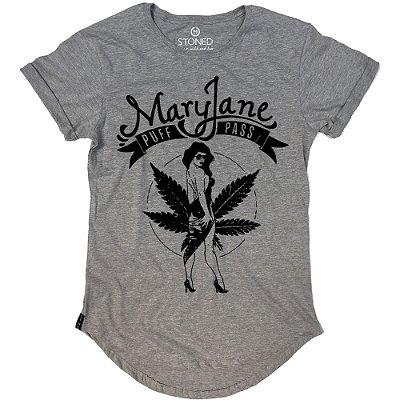 Camiseta Longline Mary Jane