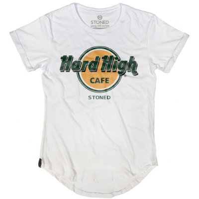 Camiseta Longline Hard High Café