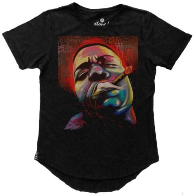 Camiseta Longline Notorious Big Stoned