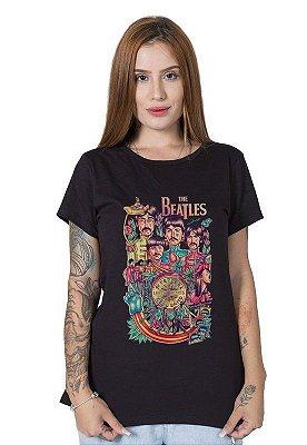 Camiseta Feminina All We Need is Beatles