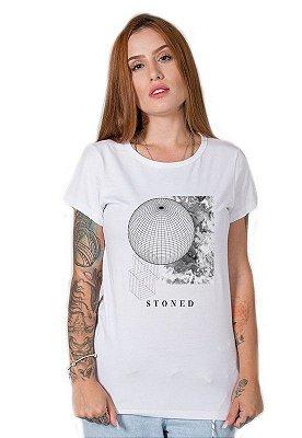 Camiseta Feminina Assimétrico