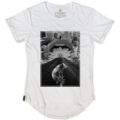 Camiseta Longline Bike Bear