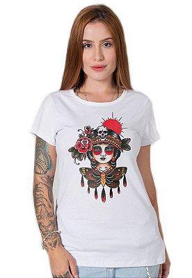 Camiseta Feminina Butterfly Girl