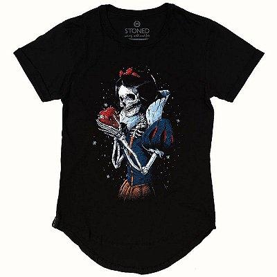 Camiseta Longline Dead Snow White