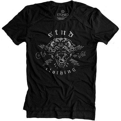 Camiseta Longline Gold Call Of Wild