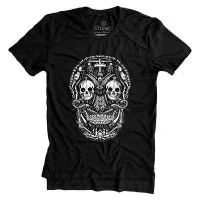 Camiseta Longline Gold Last Ritual
