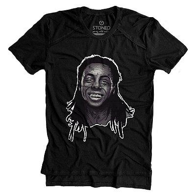 Camiseta Longline Gold Lil Wayne