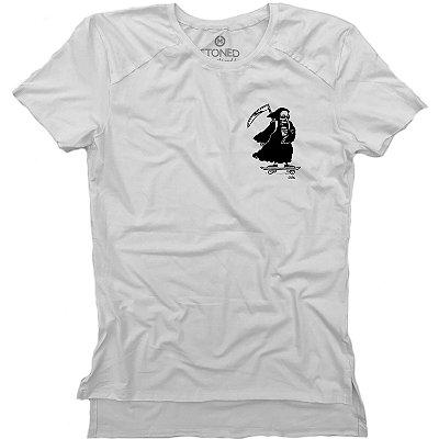 Camiseta Longline Gold Skate Death