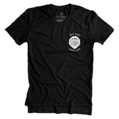 Camiseta Longline Gold The Kids Want Acid