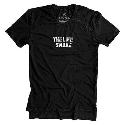 Camiseta Longline Gold The Life Snake