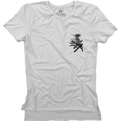 Camiseta Longline Gold Vertigo Hoopoe