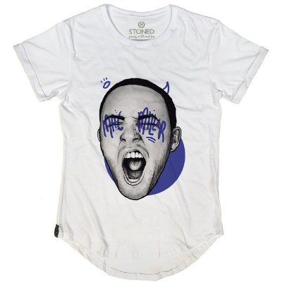 Camiseta Longline Mac Miller
