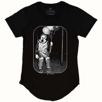 Camiseta Longline Mad Clown
