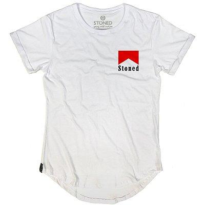 Camiseta Longline Marlboro Stoned