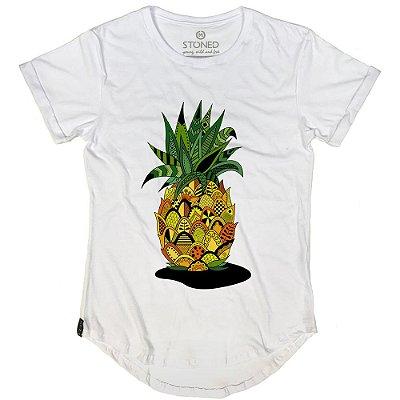 Camiseta Longline Pineapple