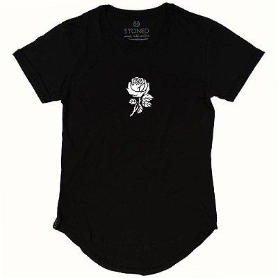 Camiseta Longline Rose