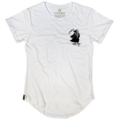 Camiseta Longline Skate Death