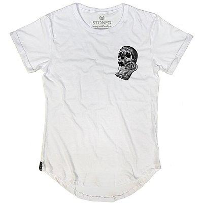Camiseta Longline Skull Dollar
