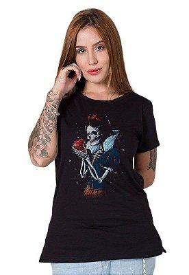 Camiseta Feminina Dead Snow White