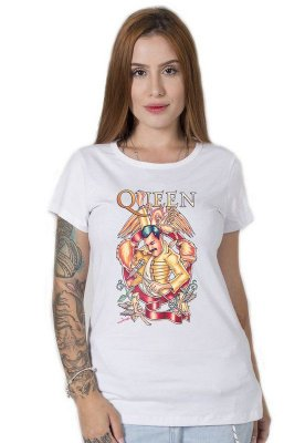 Camiseta Feminina Don't Stop Queen Now