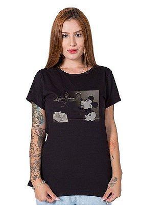Camiseta Feminina Fight Mickey