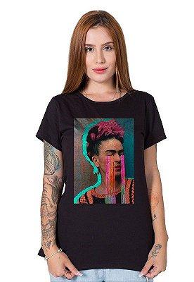 Camiseta Feminina Frida Kahlo