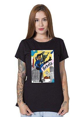 Camiseta Feminina Frida Rockstar