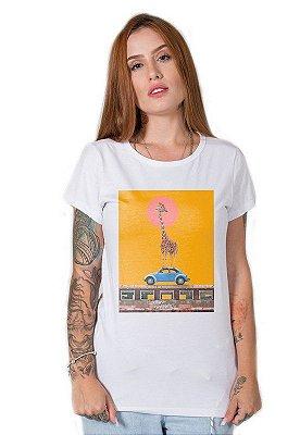 Camiseta Feminina Giraffe Street